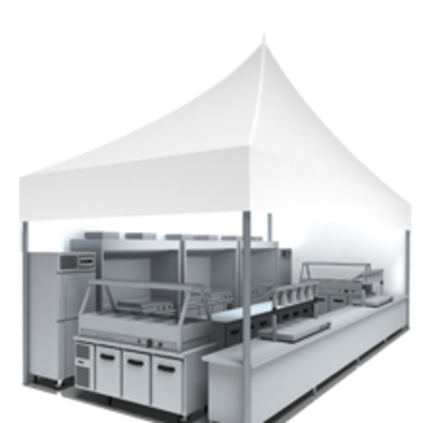 Temporary Kitchen Hire UAE | Lowe Rental