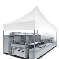 Tented Temporary Kitchens