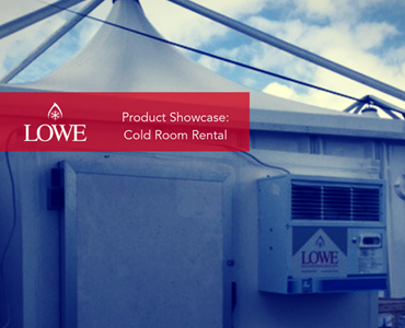 Product Showcase: Cold Room Rental